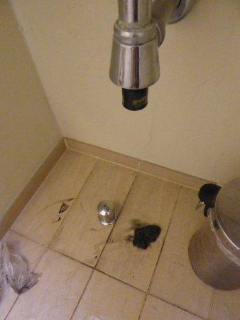 Risskov, Dinamarca: les lavabos sont moins glorieux