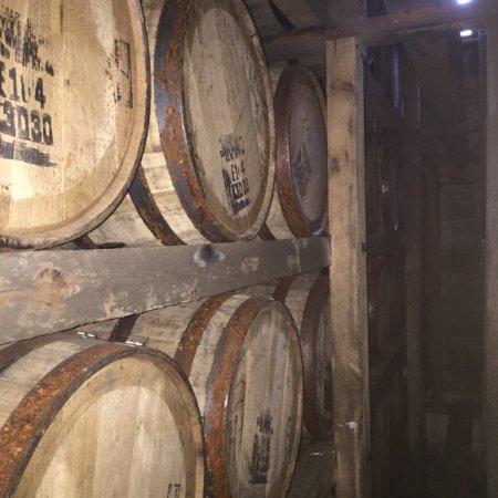 Mint Julep Tours: Barrels at Maker's Mark