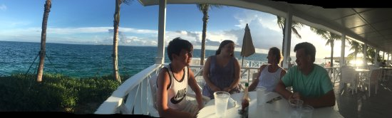 Great Guana Cay: Dinner at Orchid Bay