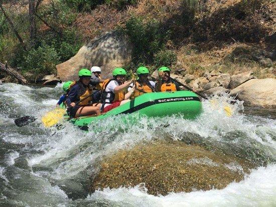 SoCal Rafting: summer fun