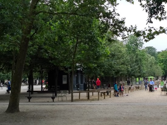 Playground in le jardin de luxembourg photo de jardin du for Cafe jardin du luxembourg
