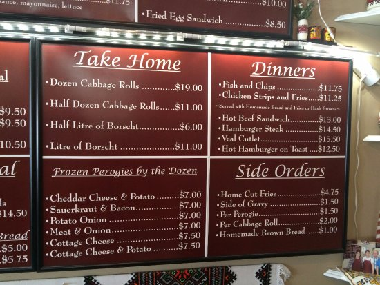 Vernon, Canada: How about some take out for the family...just call ahead