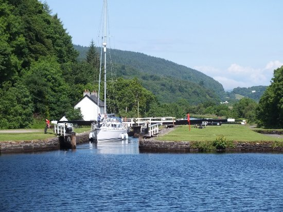 Argyll and Bute, UK: ! of the locks on the northern section of the canal.