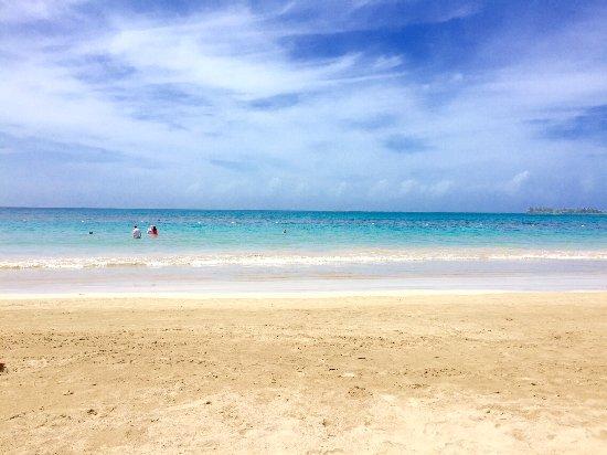 The Ritz-Carlton, San Juan: Photo I took on the beach.