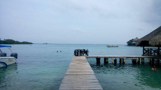 Hotel San Martin Cartagena: Isla del sol, islas del rosario.