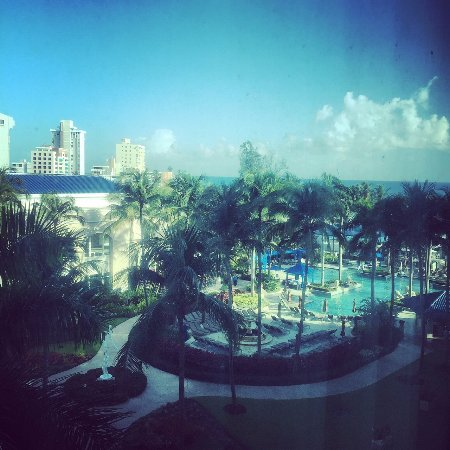 The Ritz-Carlton, San Juan: View from Room 630