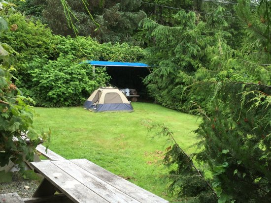 Was als ein voller Hookup-Campingplatz gilt
