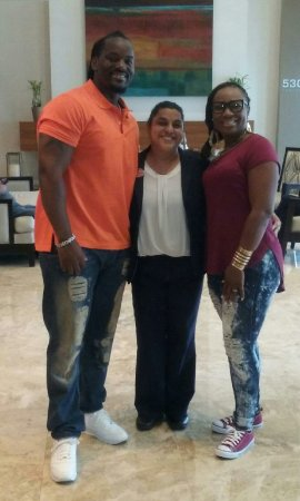 Provident Doral at The Blue Miami: My husband and I got to stay at this wonderful hotel and meet this beauty Diana. She was a jewel