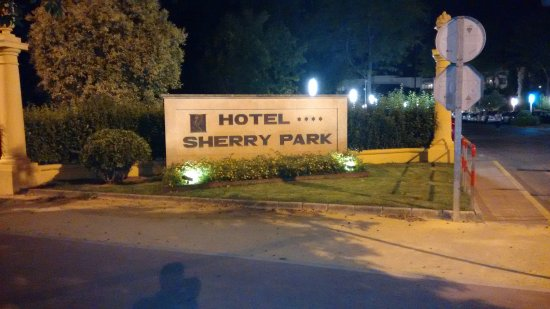 Hipotels Hotel Sherry Park: Entrada recinto hotel