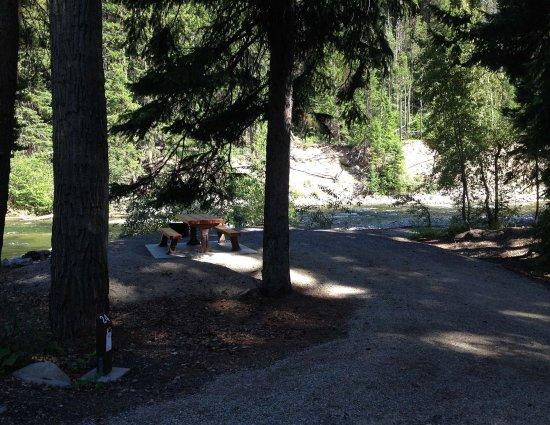 Manning Park, Καναδάς: campsite
