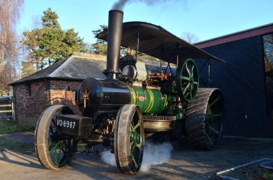 Nottingham Industrial Museum : Fowler Traction Engine