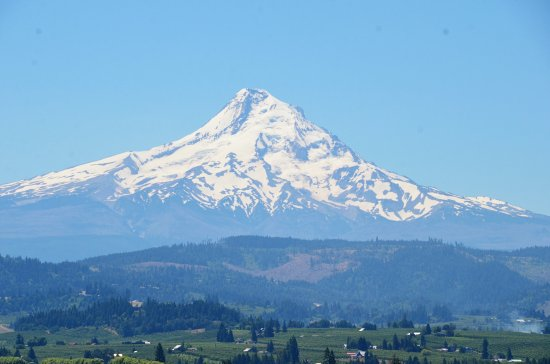 Hood River, Oregón: The view was incredible.