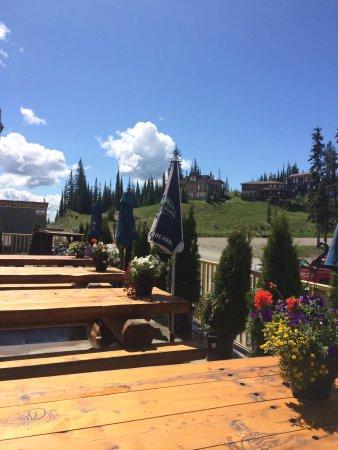 Silver Star, Kanada: Grand Cafe Patio