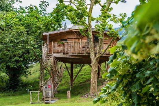 Esterencuby, Frankrike: cabane