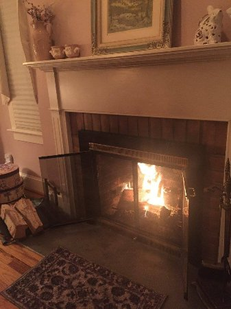 Crozet, VA: In-Room fireplace