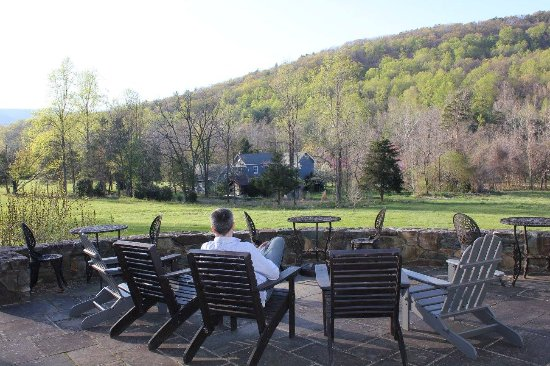 The Inn at Sugar Hollow Farm : Outdoor patio