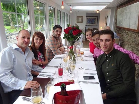 Balquhidder, UK: Our engagement at Monachyle Mhor