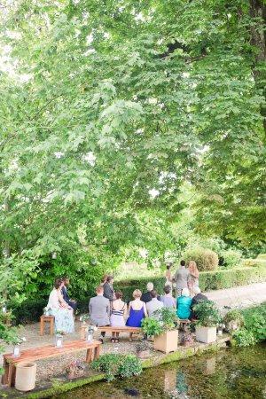 Montmoreau-Saint-Cybard, Francja: Wedding at Les Mirandes