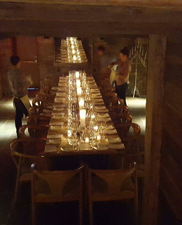 Pound Ridge, นิวยอร์ก: private dining room