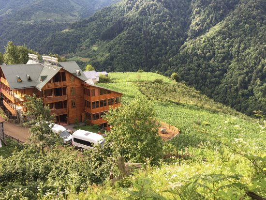 Macahel Green Roof Hotel : Harika lokasyon nefis yemekler