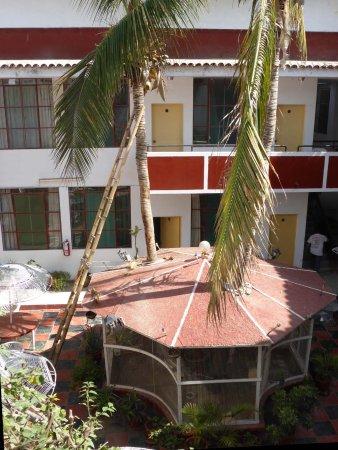 Los Cocos Inn: Innenhof
