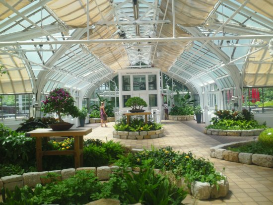 Franklin Park Conservatory And Botanical Gardens: Inside Of Greenhouse