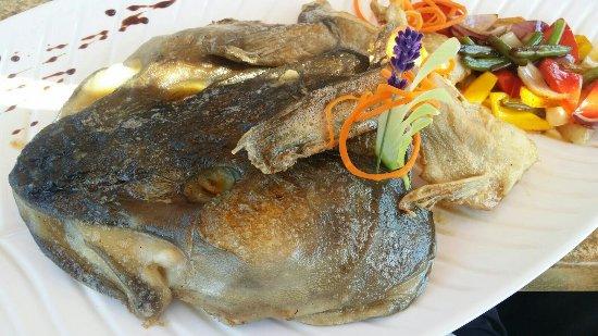 Dorschkopf - Bild von Fischrestaurant Waterblick, Loddin