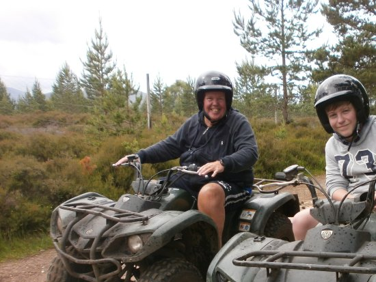 Aviemore, UK: Bob and Jamie