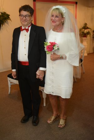 Marriage Vow Renewal On Our 35th Anniversary Picture Of The Little