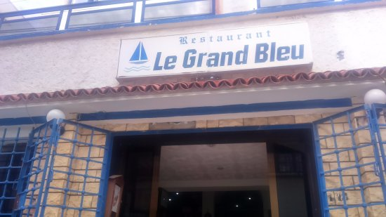 restaurant le grand bleu ain benian tripadvisor. Black Bedroom Furniture Sets. Home Design Ideas