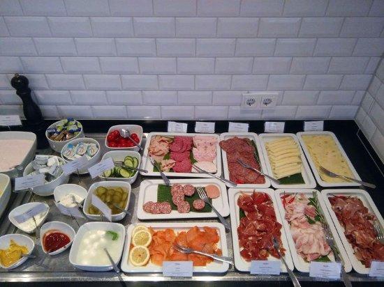 Hotel Mercure Muenchen Altstadt: отличный завтрак
