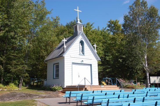 Saint-Raymond, Canada: View of Chapel of Mount Laura