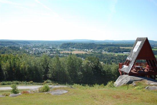 Saint-Raymond, Καναδάς: View of St-Raymond de Portneuf from Mount Laura