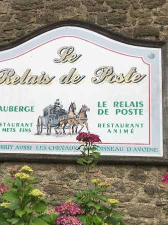 Vendée, France : Vu de l'entrée au resto