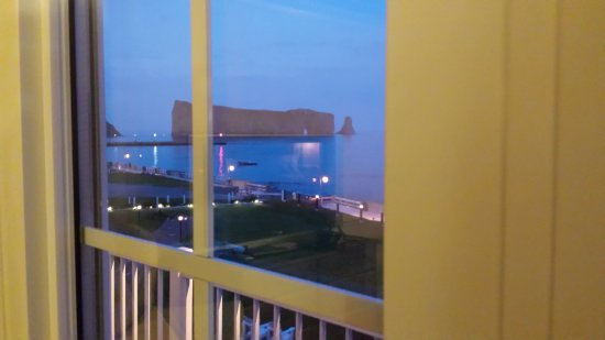 Hotel La Normandie: The view from our rom