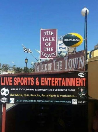 Talk of the Town: fun for all.