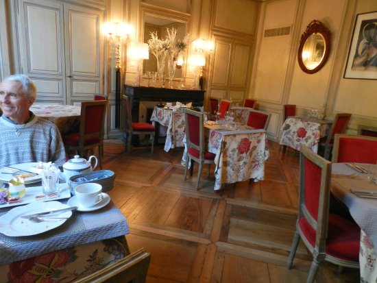 Les chambres du Manoir : Beautiful Restaurant