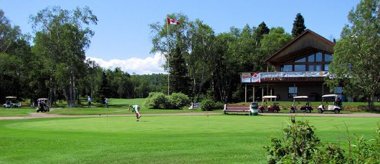 Terrace Bay, Kanada: A 9-hole course on beautiful Lake Superior