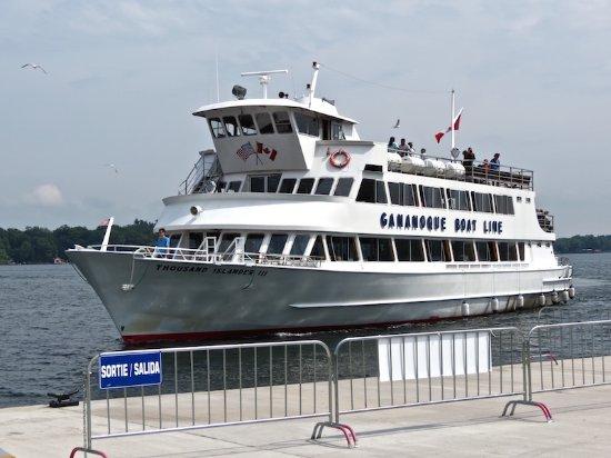Gananoque, Canadá: Boat