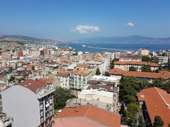 Bandırma, Türkiye: View from our room !