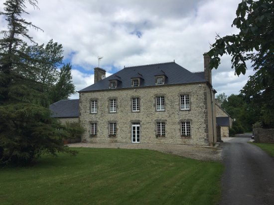 An oasis of tranquility in the Normandy countryside.