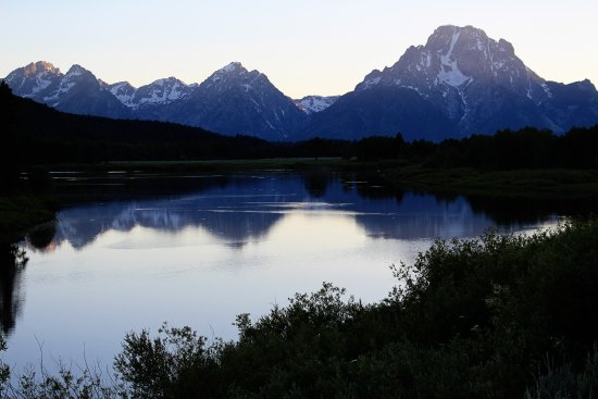Oxbow Bend: June near sunset