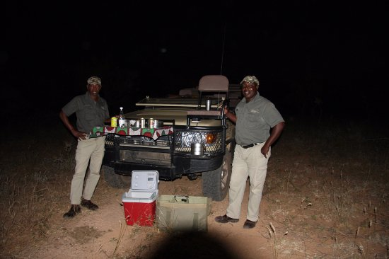 Pondoro Game Lodge: on tour snack -both AM and PM tour has