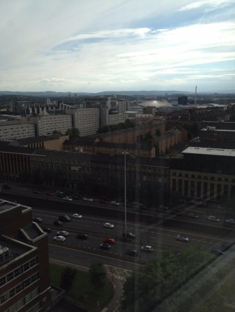 Premier Inn Glasgow City Centre (Charing Cross) Hotel: View from the 12th Floor