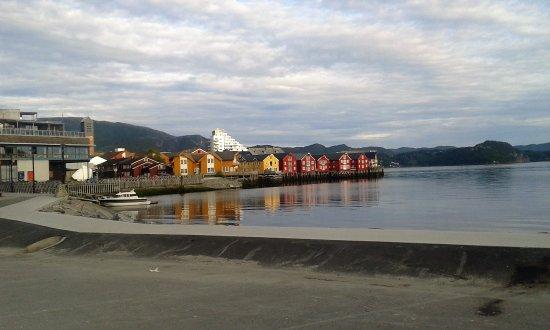 Namsos, Noruega: vue du restaurant