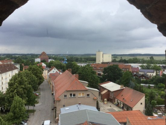 Anklam, Germany: Blick vom Steintor
