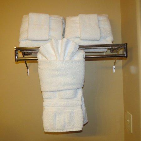 Three Cs!  Clean, comfortable, convenient