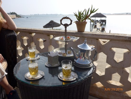 La Sultana Oualidia: Our welcome refreshments