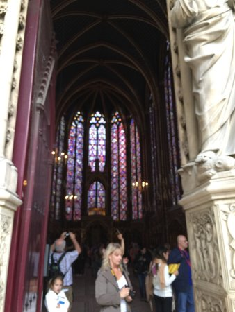 París, Francia: Sainte-chapelle
