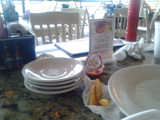 Port Canaveral, Floryda: Outside patio